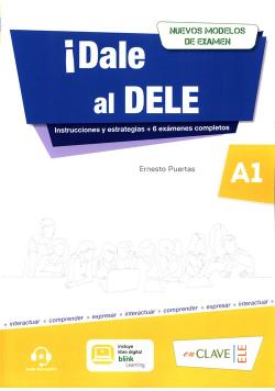 Dale al DELE A1 książka + wersja cyfrowa + zawartość Online