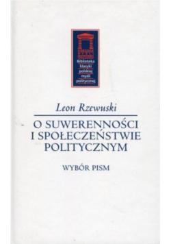 O suwerenności i społeczeństwie politycznym