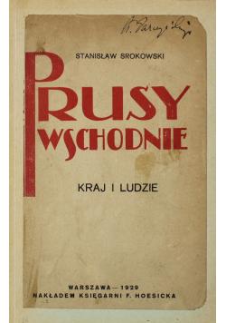 Prusy Wschodnie Kraj i ludzie 1929 r.