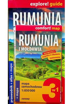 Explore guide Rumunia 3w1 wyd 2018