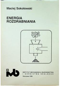 Energia rozdrabniania