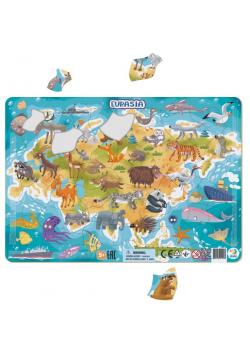 Puzzle ramkowe 53 Eurazja