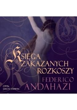 Księga zakazanych rozkoszy Audiobook CD Nowy