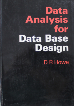Data Analysis for Data Base Design