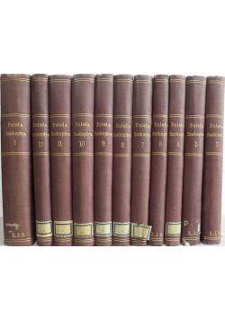 Dzieła dramatyczne Williama Shakespeare 11 tomów 1895 r.