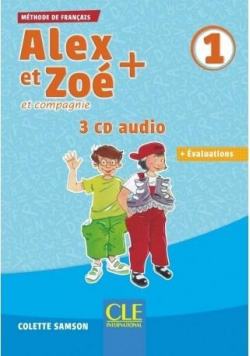 Alex et Zoe plus 1 CD audio