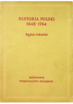 Historia Polski 1648 - 1764