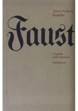 Faust tragedia część pierwsza