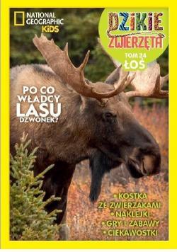 Dzikie zwierzęta T.24 Łoś