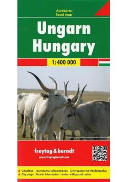 Mapa samochodowa - Węgry 1:400 000