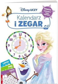 Disney Uczy. Kraina Lodu. Kalendarz i zegar
