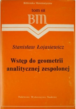 Wstęp do geometrii analitycznej zespolonej BM