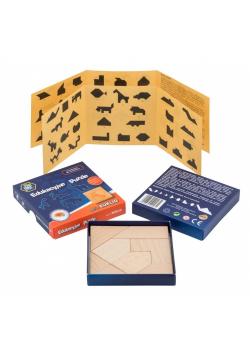 Puzzle drewniane - seria EUKLID