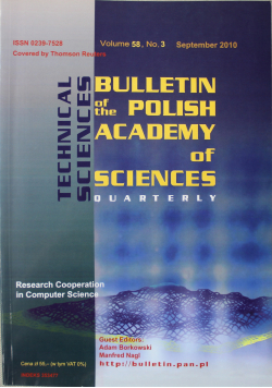 Bulletin of the polish academy of sciences volume 57 no 3