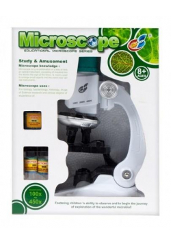 Mikroskop z akcesoriami
