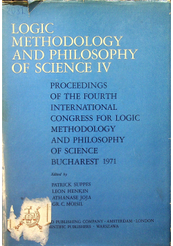 Logic methodology and philosophy of science IV