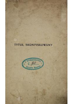 Tytuł skonfiskowany 1905 r.