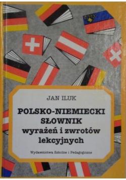 Polsko Niemiecki słownik wyrażeń i zwrotów lekcyjnych