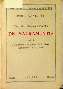 De Sacramentis Vol I