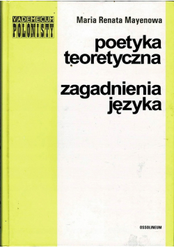 Poetyka teoretyczna zagadnienia języka