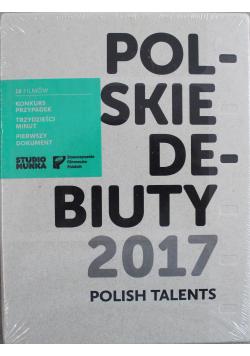 Polskie debiuty 2017 DVD NOWA