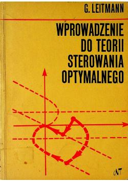 Wprowadzenie do teorii sterowania optymalnego