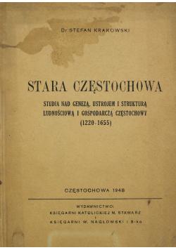 Stara Częstochowa 1948 r