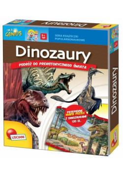 Książeczki Mały Geniusz - Dinozaury