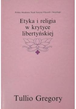 Etyka i religia w krytyce libertyńskiej