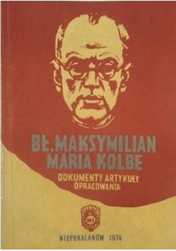 Błogosławiony Maksymilian Kolbe dokumenty