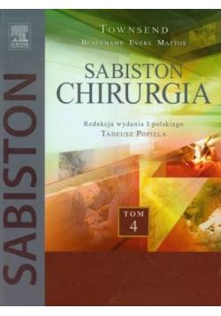 Sabiston Chirurgia Tom 4
