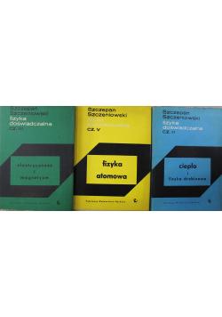 Fizyka doświadczalna 3 tomy