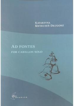 Ad fontes na carillon solo