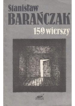 Barańczak 159 wierszy
