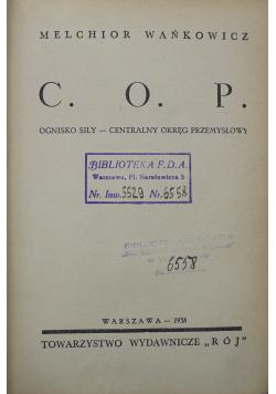 C O P 1938 r.