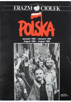 Polska Sierpień 1980 sierpień 1989