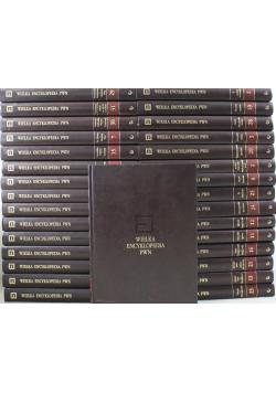 Wielka Encyklopedia PWN 31 tomów Plus CD