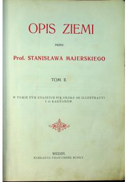 Opis ziemi tom II około 1900 r.