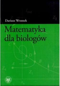 Matematyka dla biologów