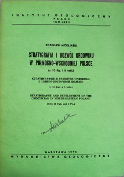 Stratygrafia i rozwój Ordowiku w północno - wschodniej Polsce