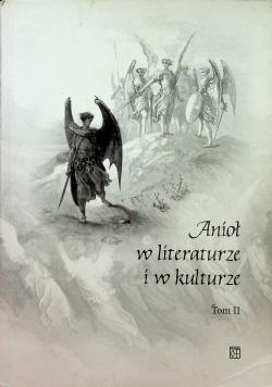 Anioł w literaturze i kulturze tom II