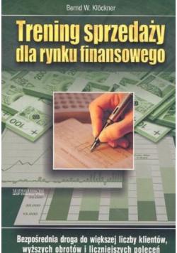 Trening sprzedaży dla rynku finansowego