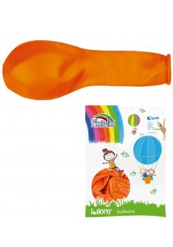 """Balony Metal 12"""" pomarańczowy (100szt) FIORELLO"""
