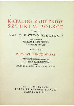Katalog zabytków sztuki w polsce Tom III zeszyt 9