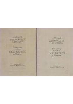 Przemyślny szlachcic Don Kichote z Manczy część 1 i 2