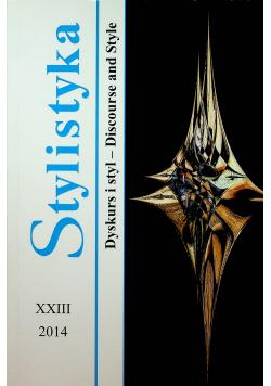 Stylistyka XXIII Dyskurs i styl