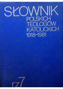 Słownik polskich teologów katolickich 1918 1981