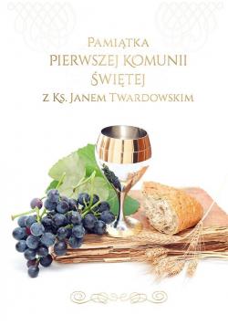 Pamiątka I Komunii Św. z ks. Janem Twardowskim