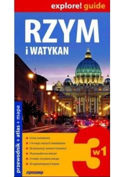 Explore! guide Rzym i Watykan 3w1 w.2019
