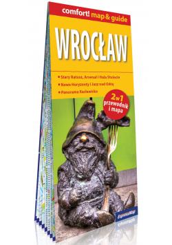 Wrocław laminowany map&guide (2w1 przewodnik i mapa)